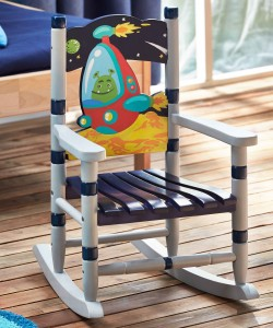 Outer Space - Small Rocking Chair